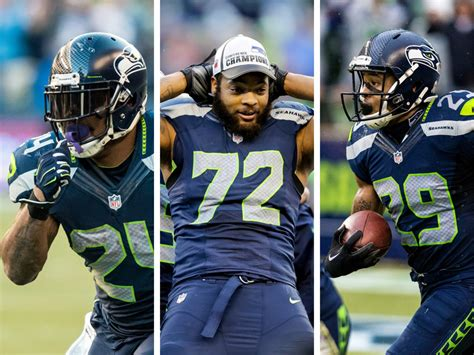 ranking  rosters seattle seahawks  top  nfl