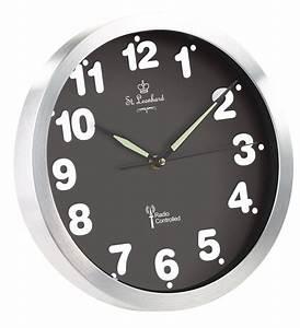 Horloge Murale Radio Pilote Quartz Avec Chiffres
