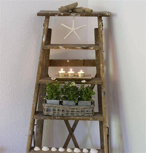 Decorating Ideas With Old Ladders by 27 Vintage Ladders For Interior Ideas Home Design And