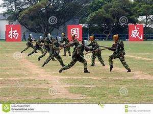 Chinese Army In Hong Kong Garrison Editorial Image - Image ...