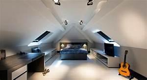 Dachboden Ausbauen Ideen : schlafzimmer im dachgeschoss 25 coole designs live ~ Lizthompson.info Haus und Dekorationen