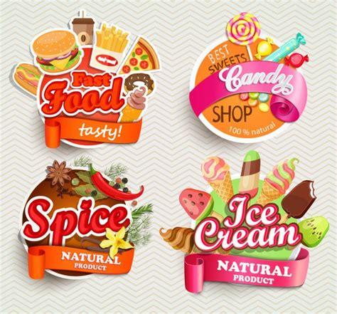 ᐈ Logos de helados fritos vectores de stock ilustraciones