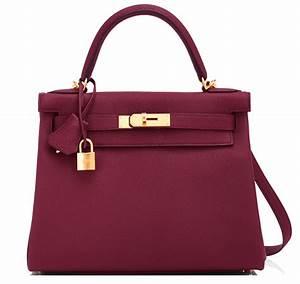 Hermes Kelly Bag 28cm Bordeaux Togo Gold Hardware | World ...  Hermes