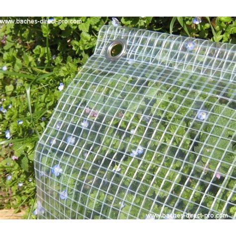 bache toiture 400 gr 2 1 x 3 m bache transparente