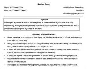 resume objective statement for engineering internship resume objectives 46 free sle exle format download free premium templates