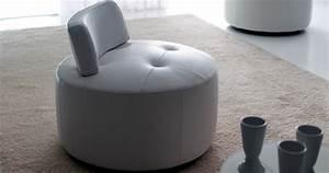 Pouf fauteuil paris pivotant personnalisable sur univers for Formation decorateur interieur avec fauteuil cuir contemporain