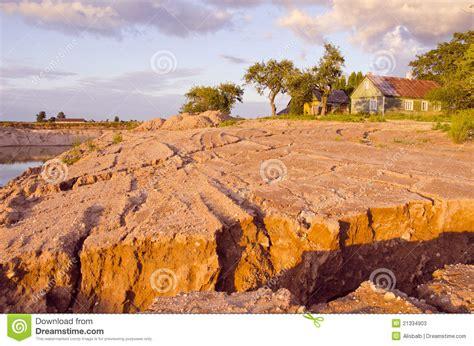 landscape erosion rain erosion landscape stock photos image 21334903
