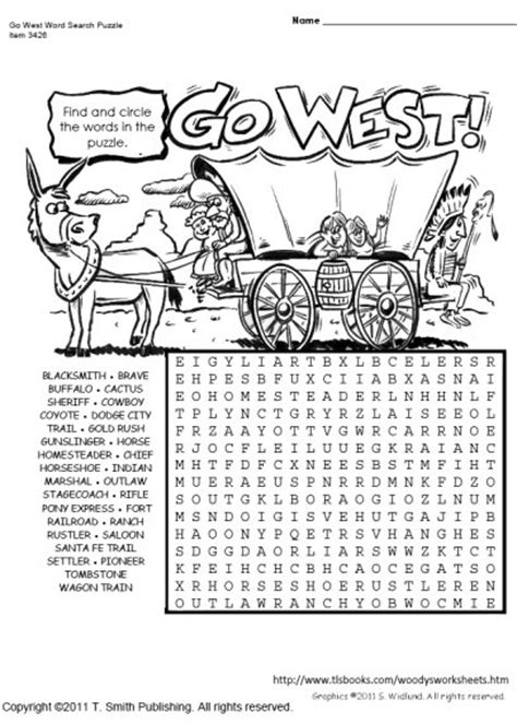 west word search puzzle