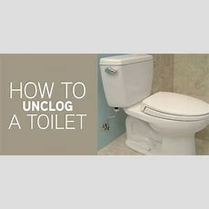 How To Unclog A Toilet  Mr Rooter