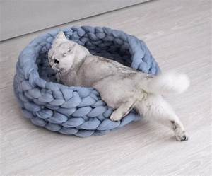 Chunky Wolle Xxl : tricot xxl a basket for a cat marie claire id es ~ Watch28wear.com Haus und Dekorationen