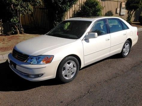 Find Used 2003 Toyota Avalon Xls Sedan 4door 30l In