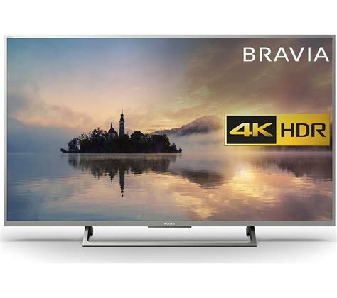 tv sony 4k buy sony bravia kd43xe7073 43 quot smart 4k ultra hd hdr led tv free delivery currys