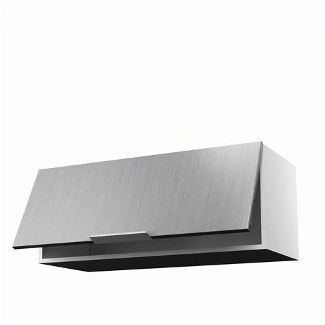 meuble de cuisine haut meuble de cuisine haut décor aluminium 1 porte stil h 35 x
