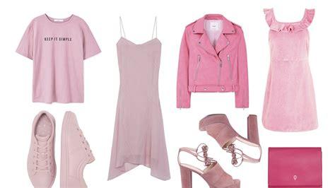 rosa el color de moda de la primavera verano