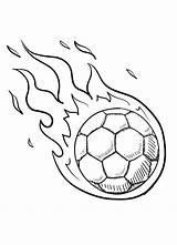 Coloring Soccer Sheets Football Soccerball Ball Balls Drawing Draw Activities Demogorgon Bundle Sport Popular Ways sketch template