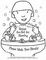 Germs Coloring Hygiene Pages Printable Sharing Teach Lessons Preschool Worksheets Activities Health Children Kindergarten Teaching Classroom Books Freespirit Board Behavior sketch template