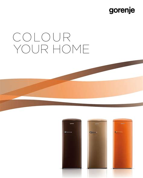 Issuu  Color Your Home 2014 By Gorenje Dd
