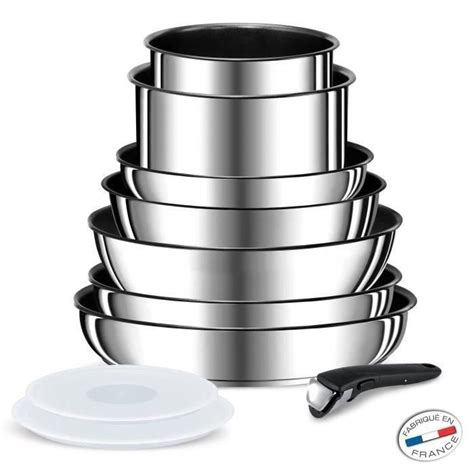 batterie cuisine pour induction mobilier table batterie de cuisine inox induction