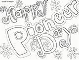 Pioneer Coloring Happy Printables Doodles sketch template