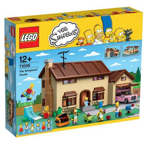 Amazoncom LEGO Simpsons 71006 The Simpsons House Toys