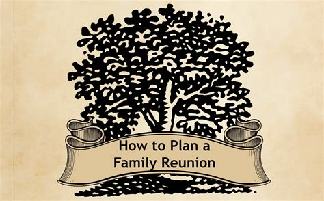 how to plan a family reunion how to plan a family reunion hilton mom voyage