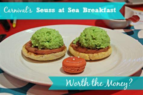 Is Carnival's Seuss at Sea Green Eggs & Ham Breakfast ...