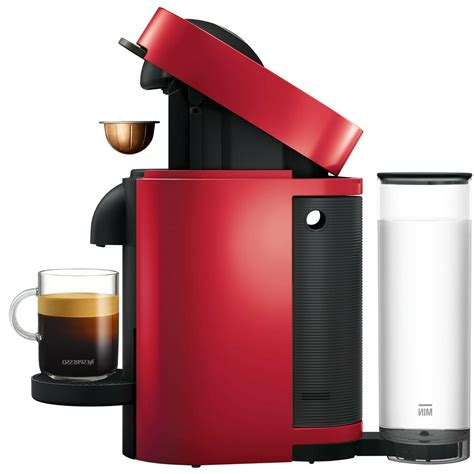 Nespresso by delonghi vertuo plus coffee and espresso maker features dual capsules for brewing either coffee or espresso with consistent flavor at the touch of a button. Nespresso By De'Longhi Vertuo Plus Coffee And Espresso