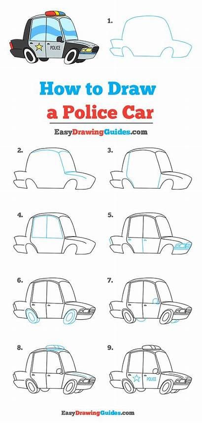 Police Draw Drawing Tutorial Easy Complete Steps