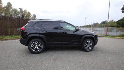 jeep trailhawk black 2017 jeep cherokee trailhawk black crystal