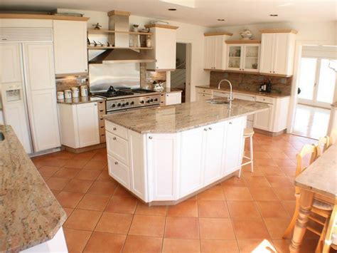terracotta tiles in kitchen pros cons 5 types of kitchen flooring materials 6035