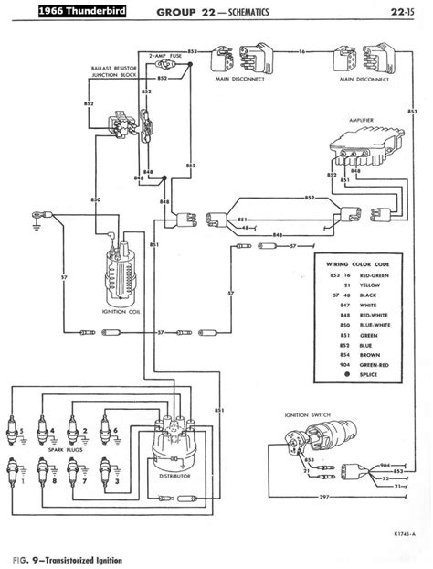 1958 Ford Wiring Diagram by 1958 68 Ford Electrical Schematics