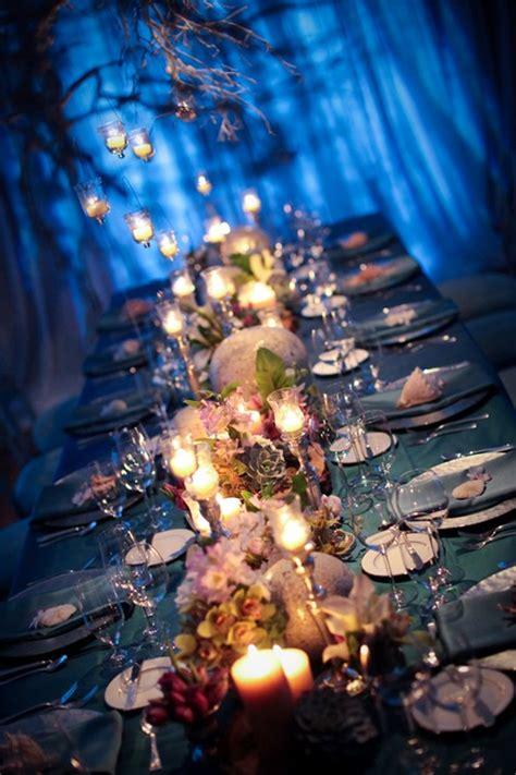 modern ocean themed tablescape elizabeth anne designs