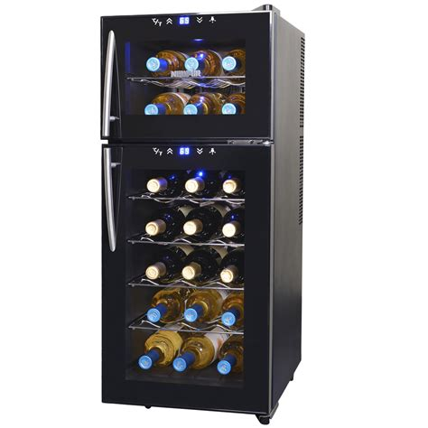 thermoelectric wine cooler newair com
