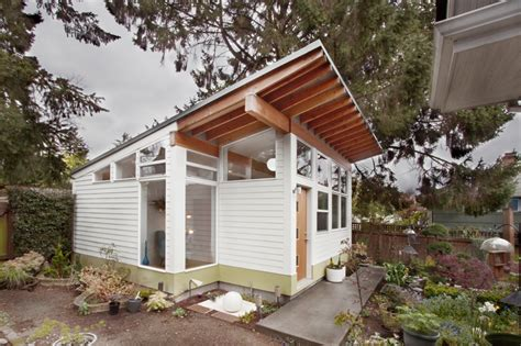 Building A Studio In The Backyard by This Backyard Studio In Seattle Was Designed For And