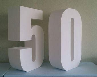large foam letters large table number etsy