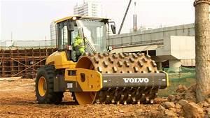 Volvo Sd110b Soil Compactor - Operator Environment