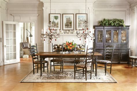 beckett dining table buffethutch traditional dining