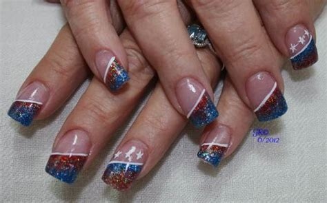 40 Amazing Patriotic Nail Art Designs & Ideas For The 4th
