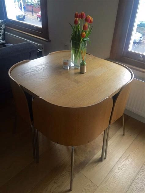 space saving kitchen table ikea discontinued ikea fusion space saving compact table with 4