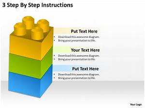 0620 Strategy Consulting 3 Step By Instructions Powerpoint