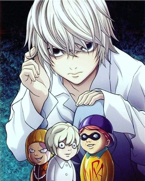 10 Most Popular Anime Boys With White Hair Cool Mens Hair