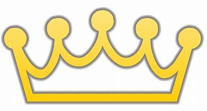 Crown Clipart Clip Prince Simple Royalty Vector