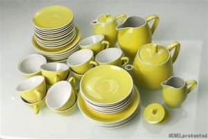 Geschirr Set Pastell : roessler carona teeservice gelb ~ Whattoseeinmadrid.com Haus und Dekorationen