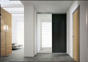 quelles portes choisir pour un interieur moderne With porte de garage enroulable et porte intérieure À recouvrement