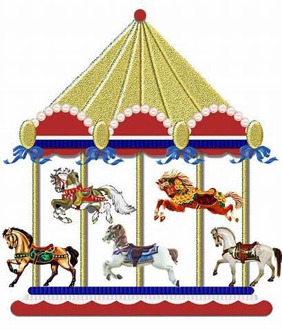 Clipart Carousel Animation Park Amusement Transparent Webstockreview