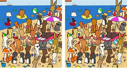 Spot Differences Hard Between Brain Illustrations Into