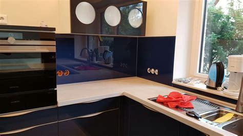 Spritzschutz Küche Glas k chenr ckwand aus glas als spritzschutz