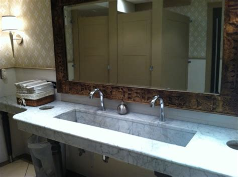 wide undermount bathroom sink for large areas