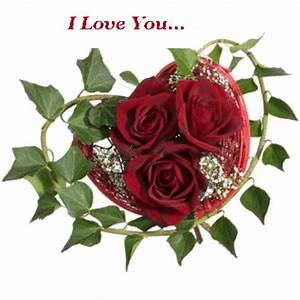 I love you... Red roses :: Love :: MyNiceProfile.com