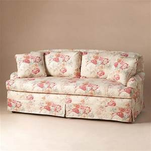 vintage floral sofa robert redford39s sundance catalog With floral sofa bed